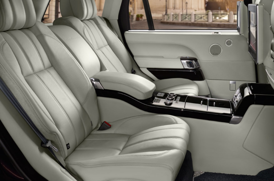 Learn About The 2016 Land Rover Range Rover Interior