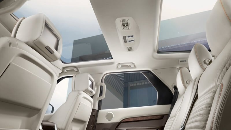 2017 Land Rover Discovery Sun Roof
