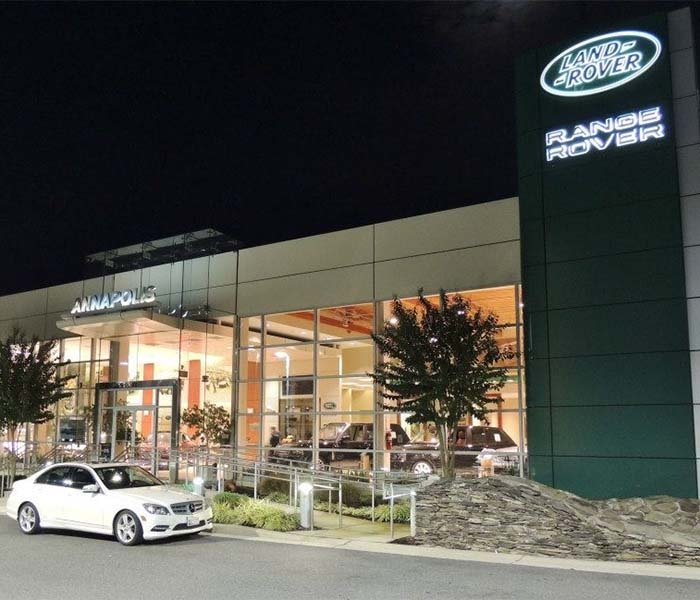 Land Rover Annapolis Dealership Picture