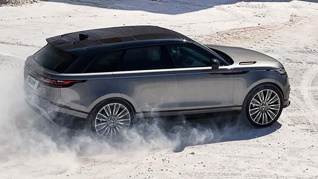 Land Rover Range Rover Velar Traction Control