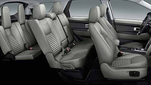 Land Rover Discovery Sport Interior Seating