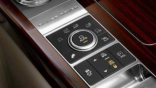 Land Rover Range Rover Interior Technology Performance Features