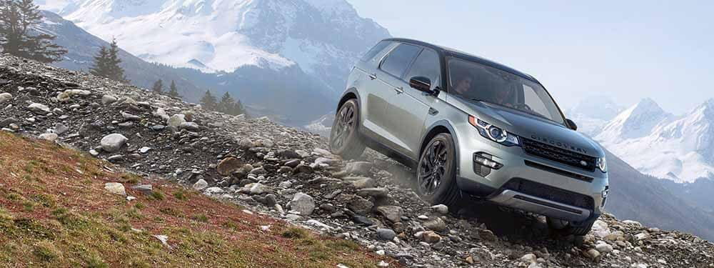 Land Rover Discovery Sport Terrain Response