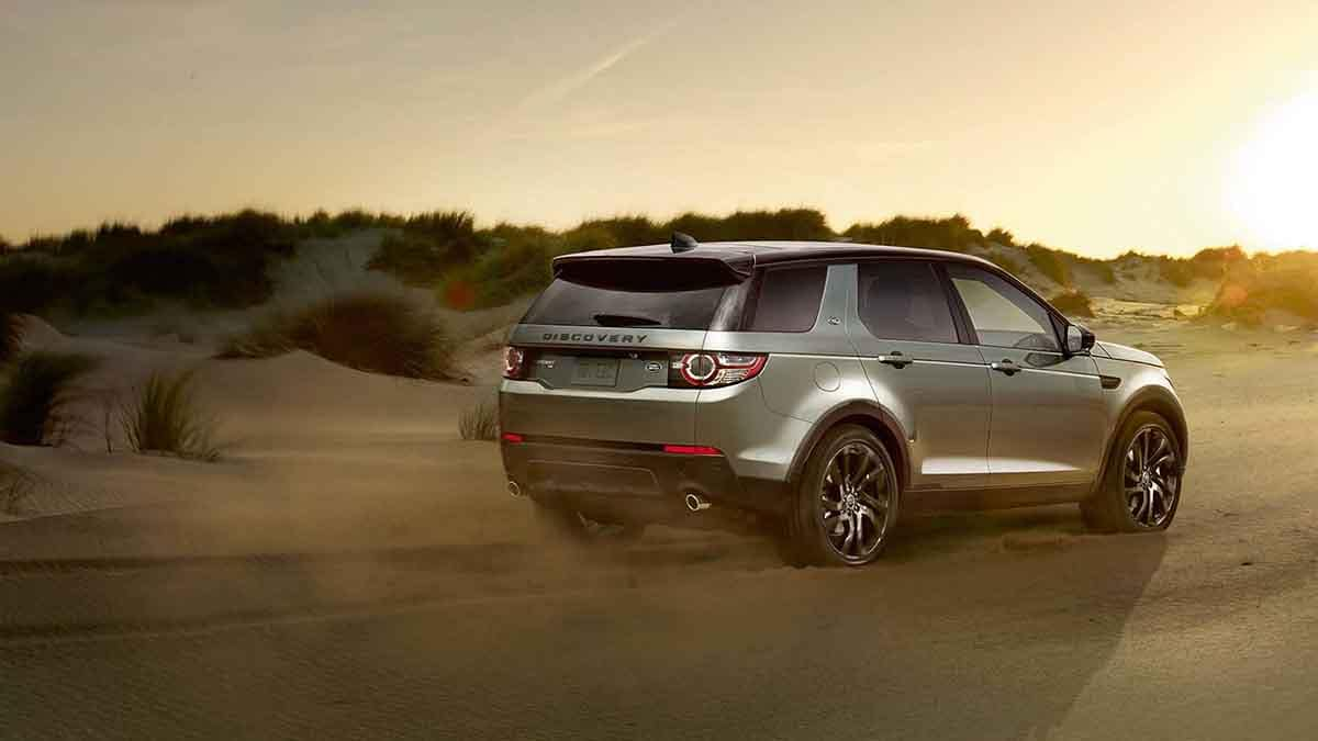 2018 Land Rover Discovery Sport Off Roading