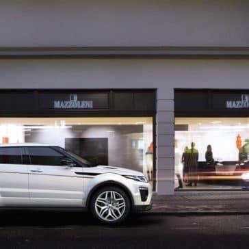 2018 Land Rover Range Rover Evoque Exterior driving
