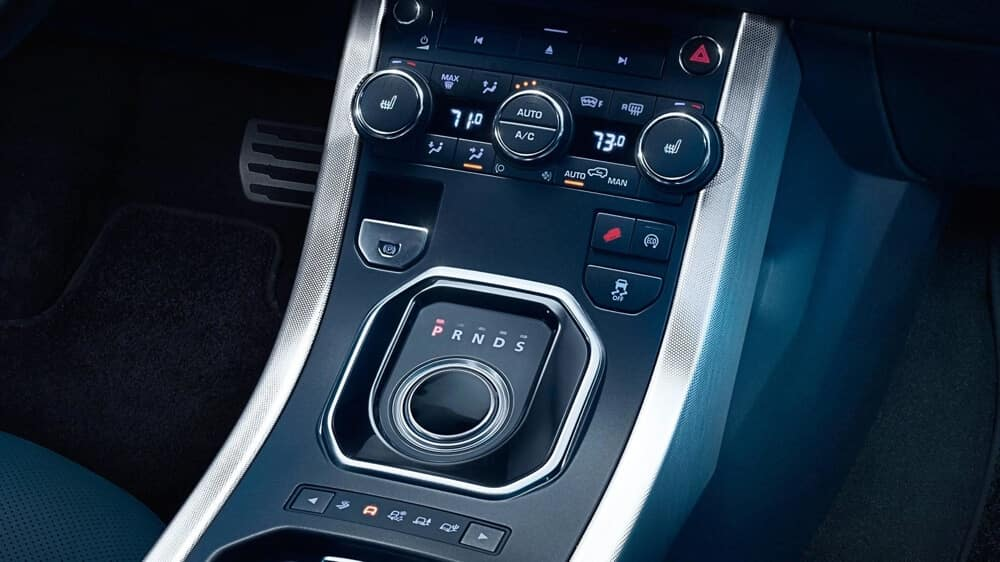 2018 Land Rover Range Rover Evoque interior technology features