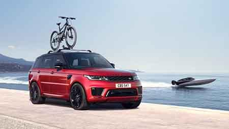 2018 Land Rover Range Rover Sport Bike Rack