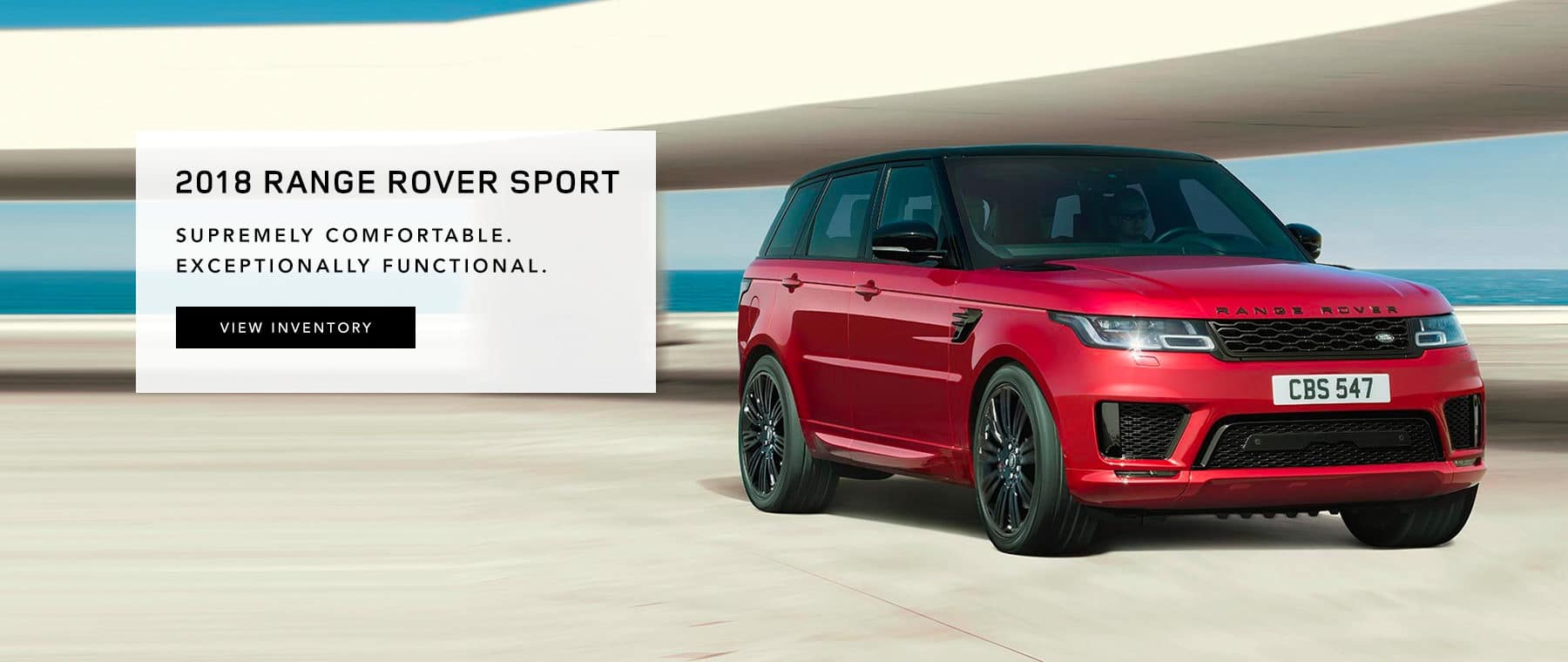 Range Rover Sport Banner
