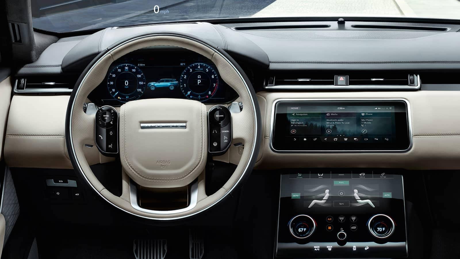 2019 Land Rover Range Rover Velar Interior Dashboard