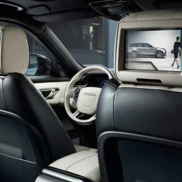2019 Land Rover Range Rover Velar Rear Entertainment System