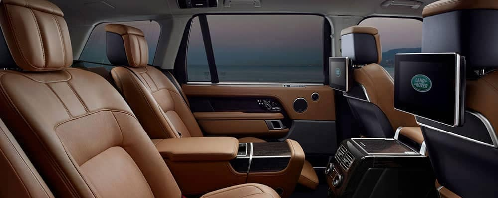 2019 range rover interior seating