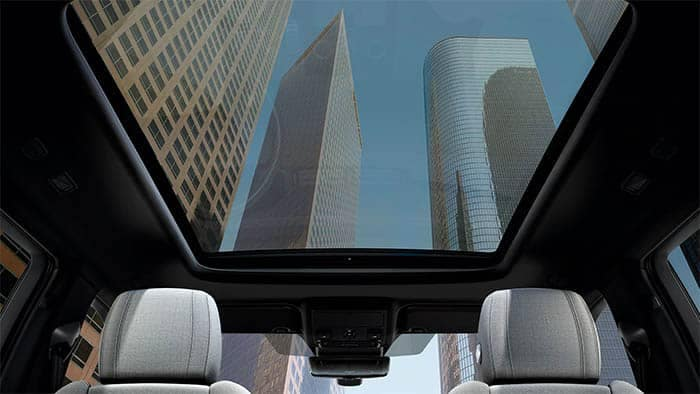 Land Rover Range Rover Evoque Interior Panoramic Roof
