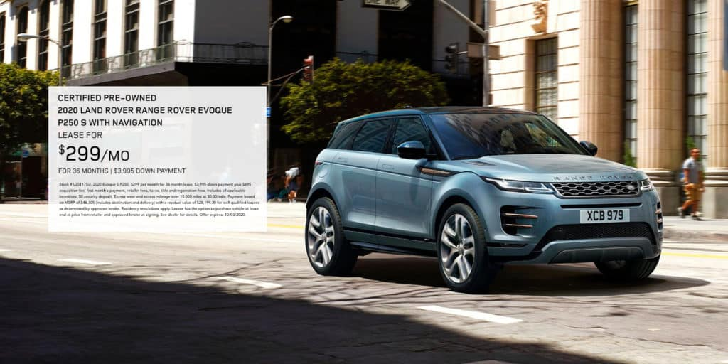 Certified Pre-Owned 2020 Land Rover Range Rover Evoque P250 S With Navigation