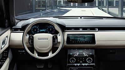 2018 Range Rover Velar Dash