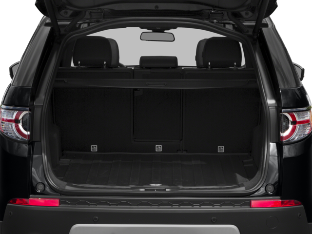 2017 Land Rover Discovery Sport cargo space