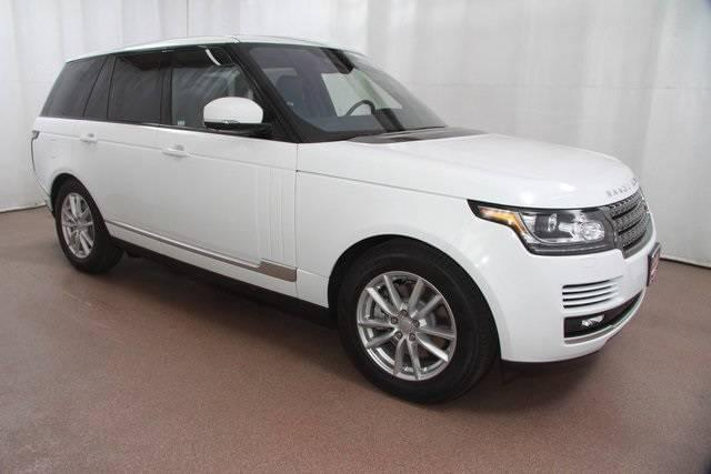 2017 Land Rover Range Rover at Land Rover Colorado Springs
