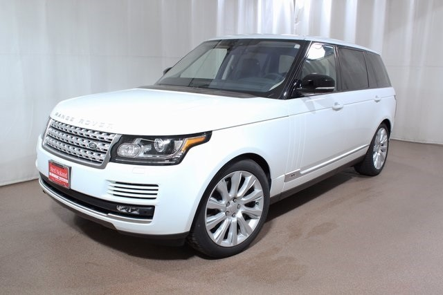 2017 Range Rover Variety of Technology