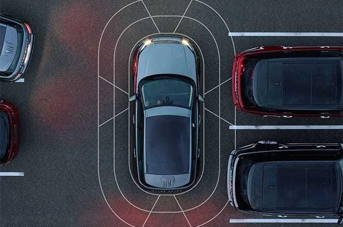 2017 Range Rover Evoque Surround Camera System