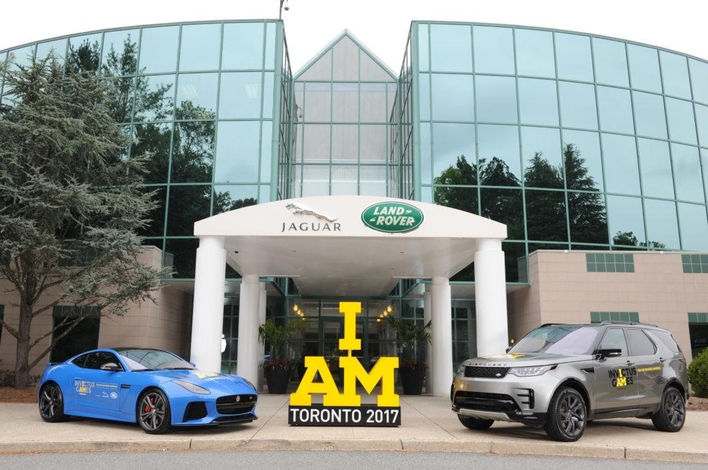 Jaguar Land Rover Sponsors U.S. Armed Forces Team