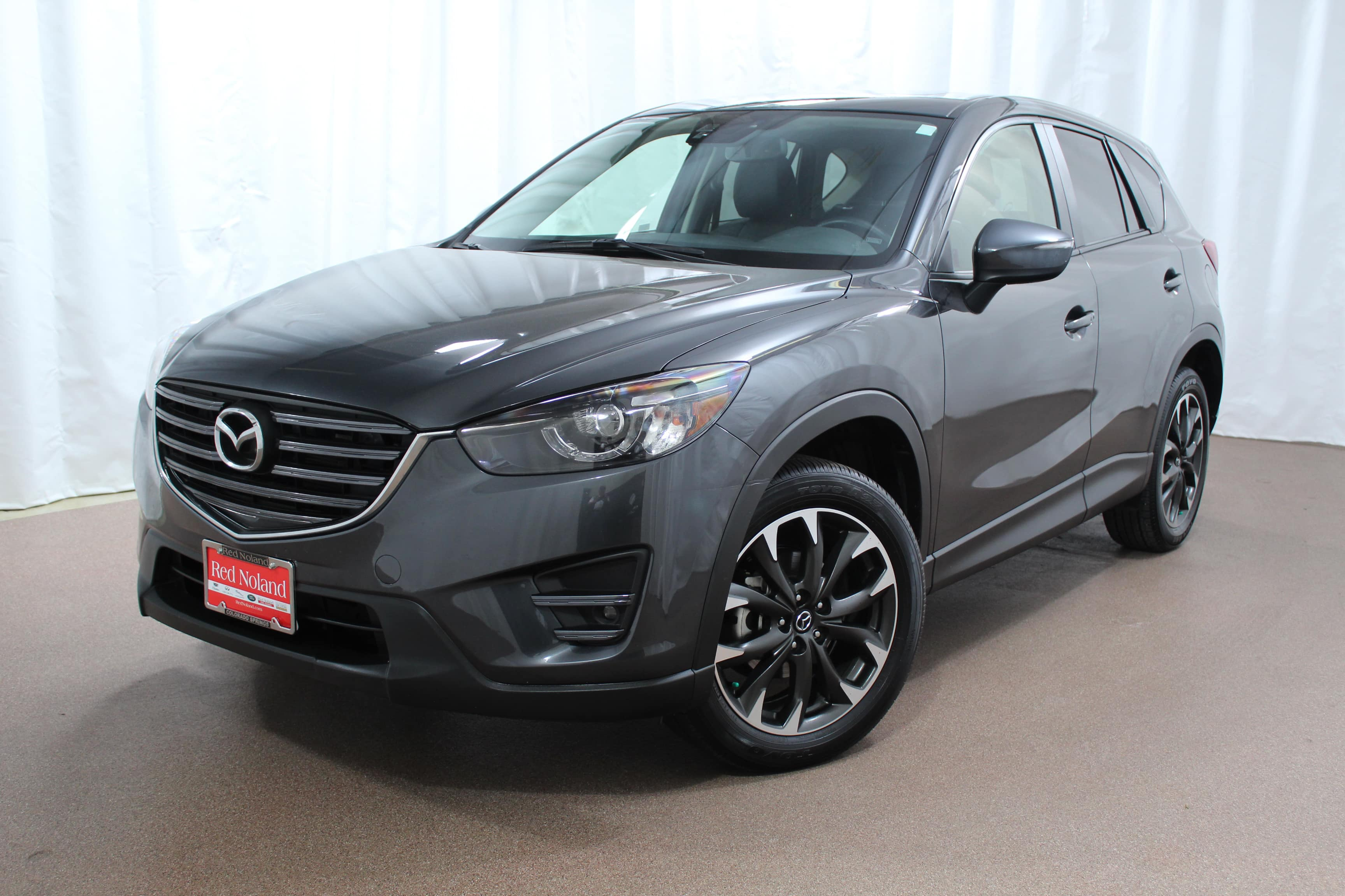 used 2016 mazda cx 5 grand touring at land rover colorado springs. Black Bedroom Furniture Sets. Home Design Ideas