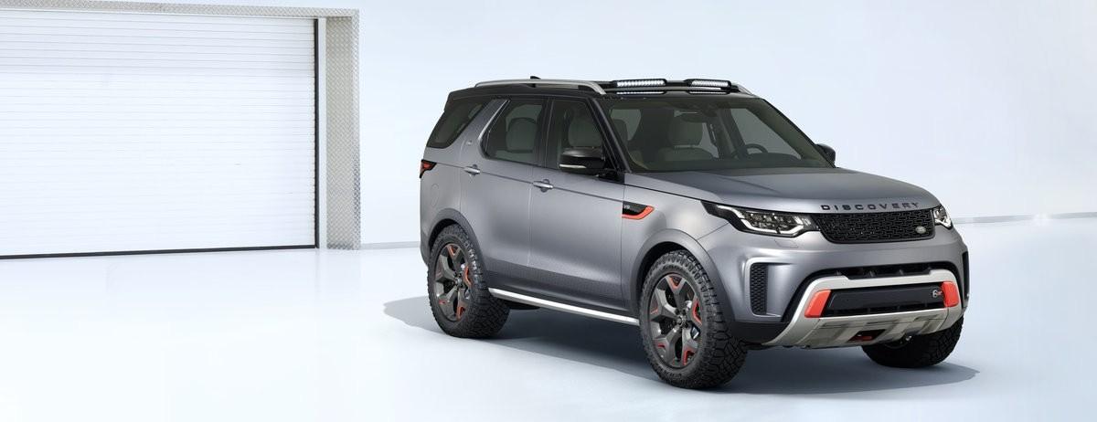 Land Rover Reveals All-Terrain Discovery SVX