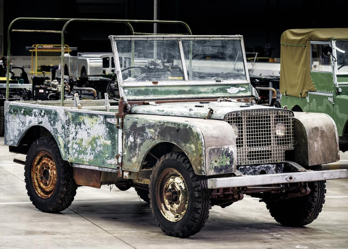 Original 4x4 to be restored by Land Rover