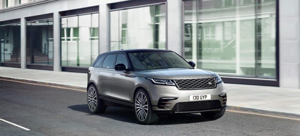 Trade up to the 2018 Range Rover Velar