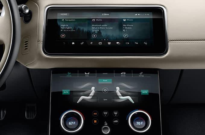 2018 Range Rover Velar Infotainment System