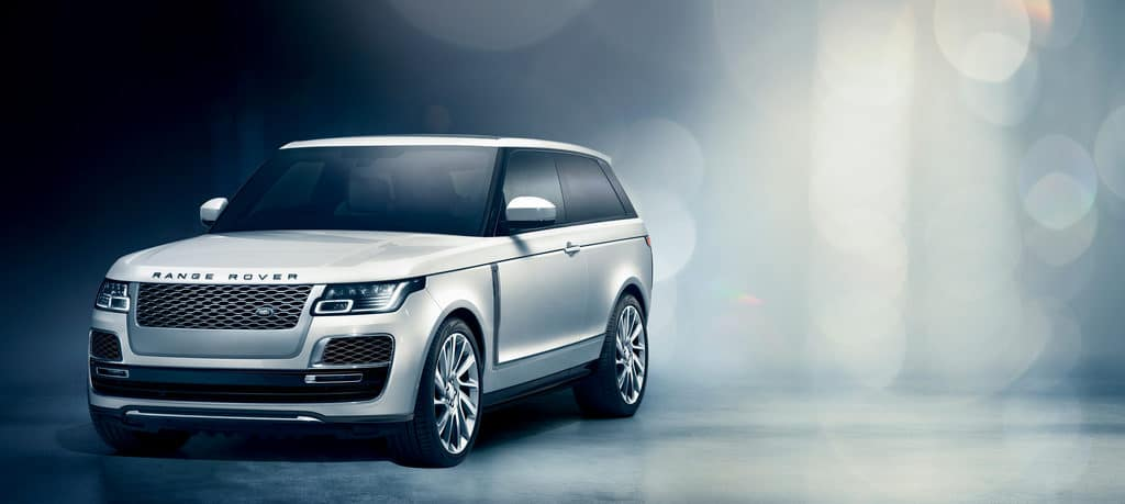 Range Rover SV Coupe performance SUV