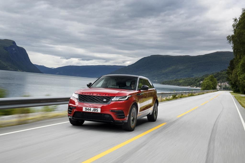 2018 Range Rover Velar Potential Award Win