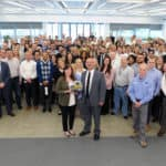 Land Rover 70th Anniversary celebration at north american headquarters