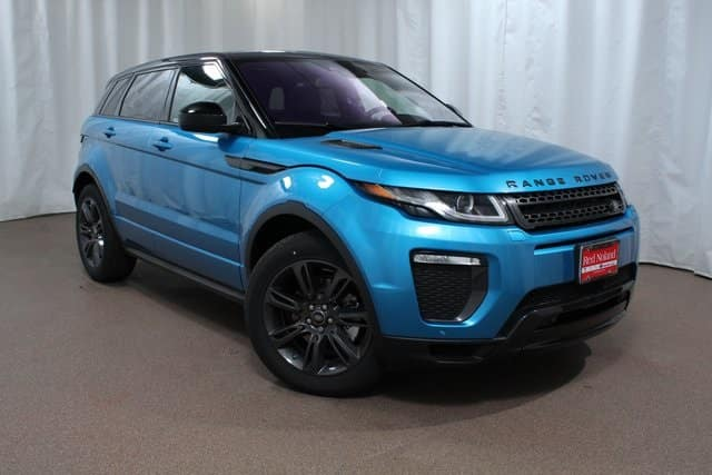 2018 Range Rover Evoque luxury SUV