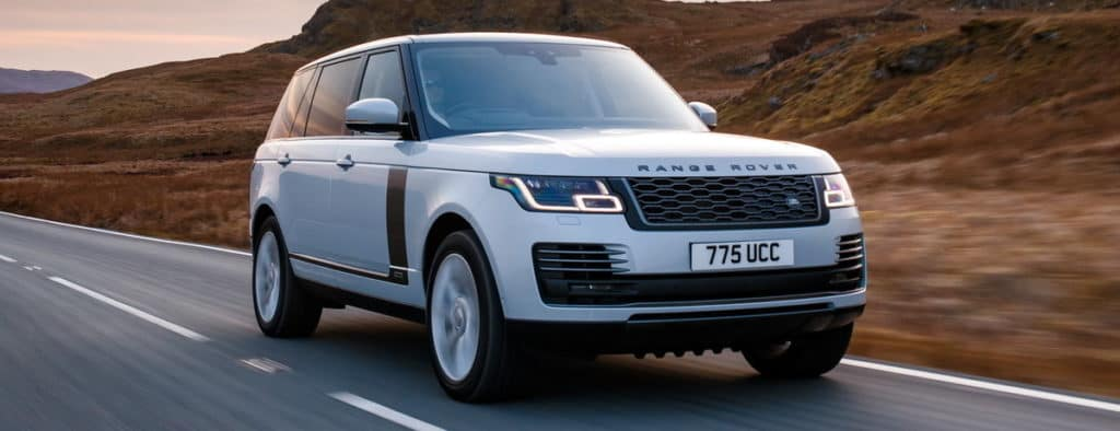 2019 Range Rover Driver Assistance Technology
