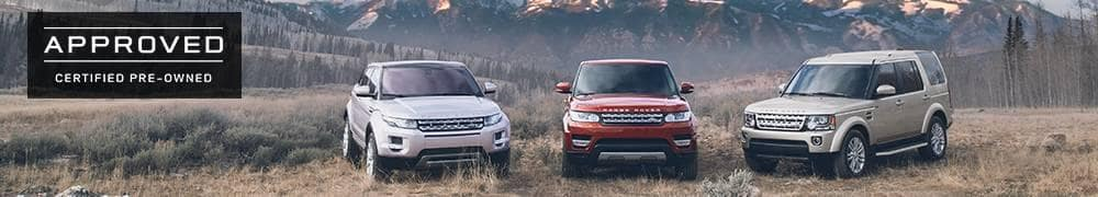 Land Rover Certified Pre-Owned SUV options