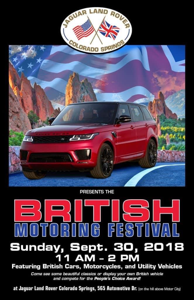 British Motoring Festival Colorado Springs