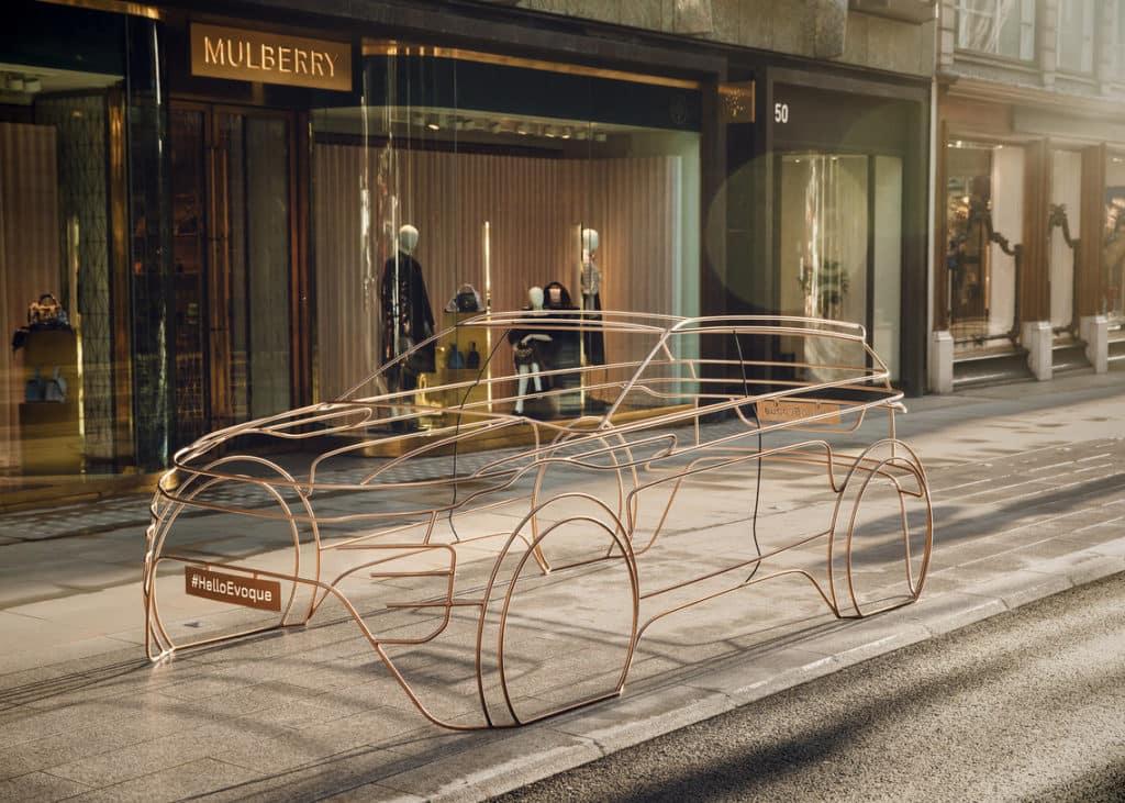 Range Rover Evoque Wire Form Art