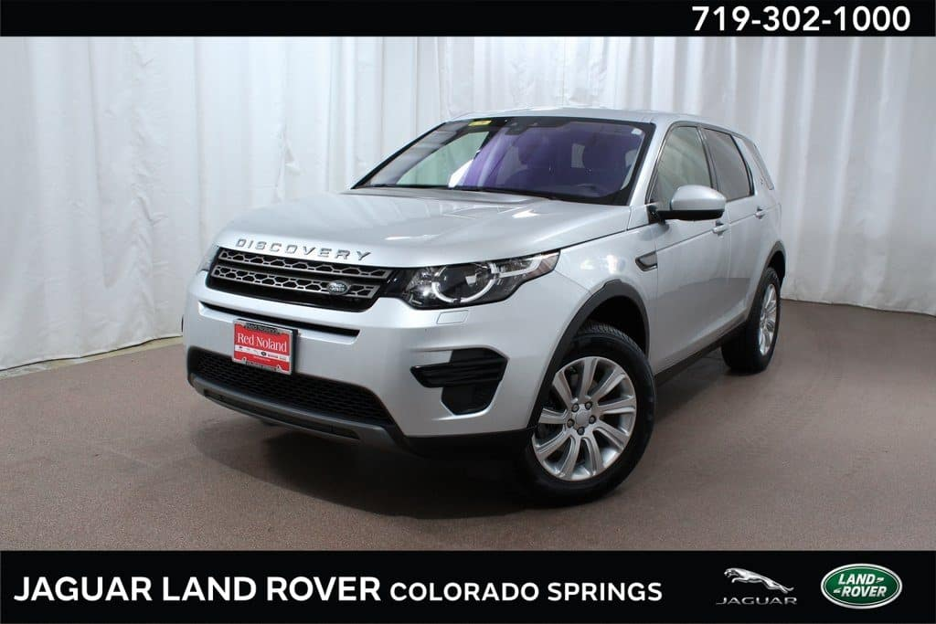 Gently used 2018 Land Rover Discovery Sport