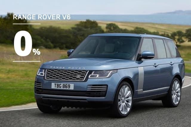New 2020 Land Rover Range Rover HSE V6