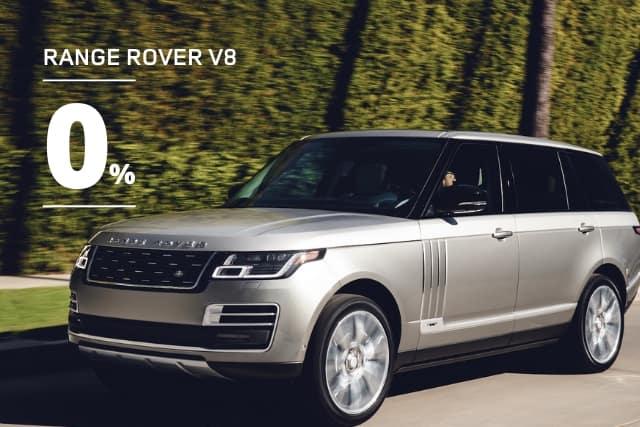 New 2020 Land Rover Range Rover HSE V8
