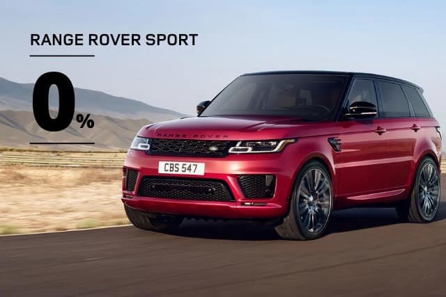 New 2020 Land Rover Range Rover Sport