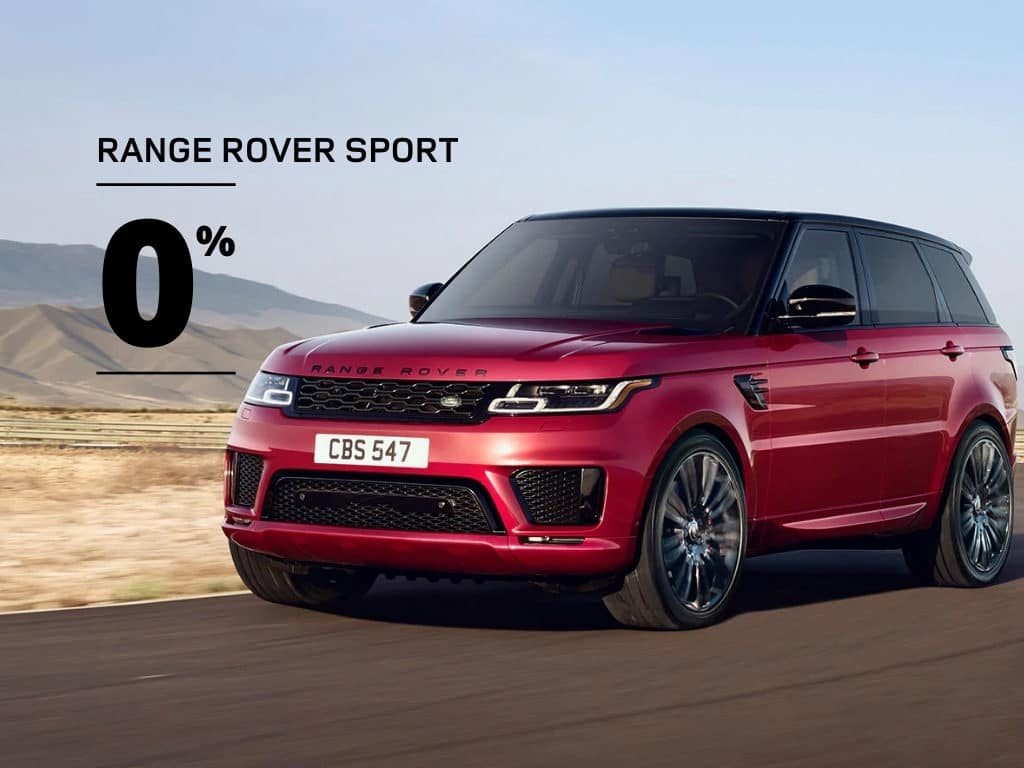 New 2020 Land Rover Range Rover Sport