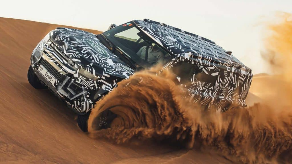 2020 Land Rover Defender Off-Road Testing