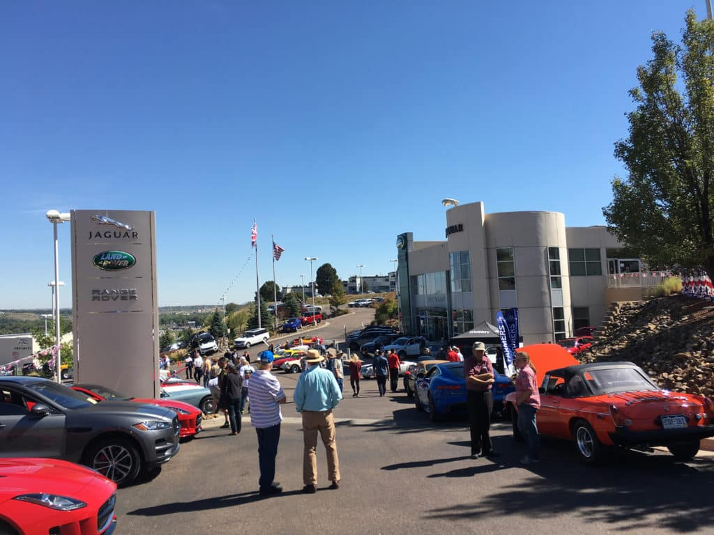 british motoring festival and car show in colorado springs