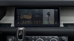 2020 Land Rover Defender Dash
