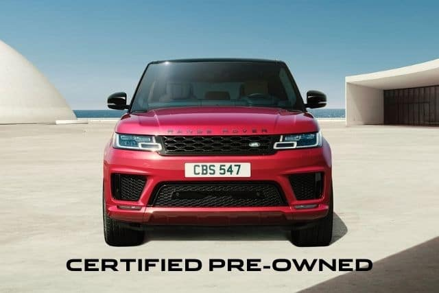 CERTIFIED PRE-OWNED LAND ROVER MODELS