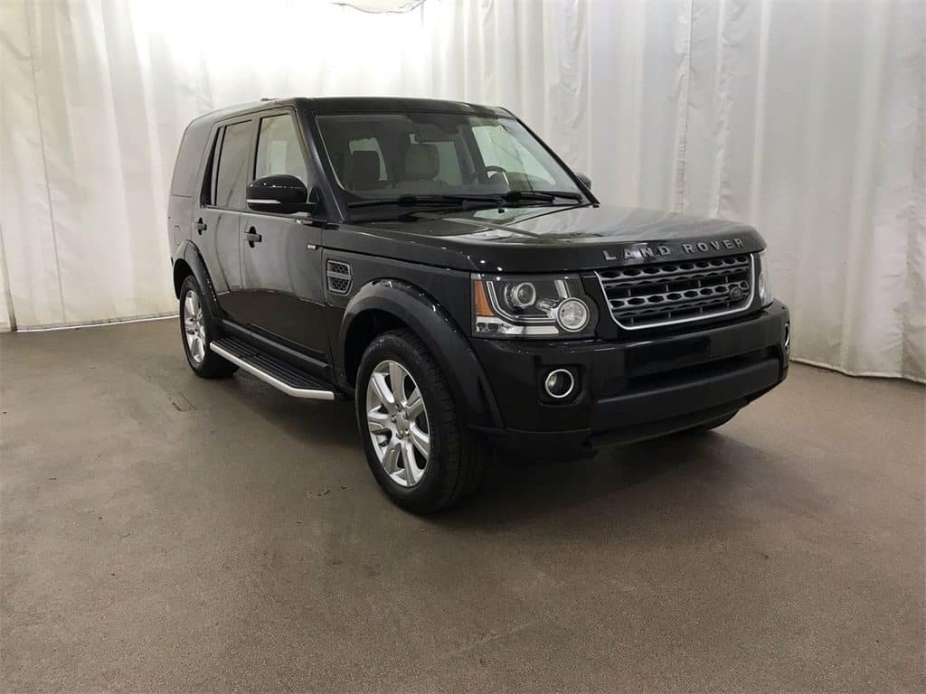 Approved CPO Land Rover LR4