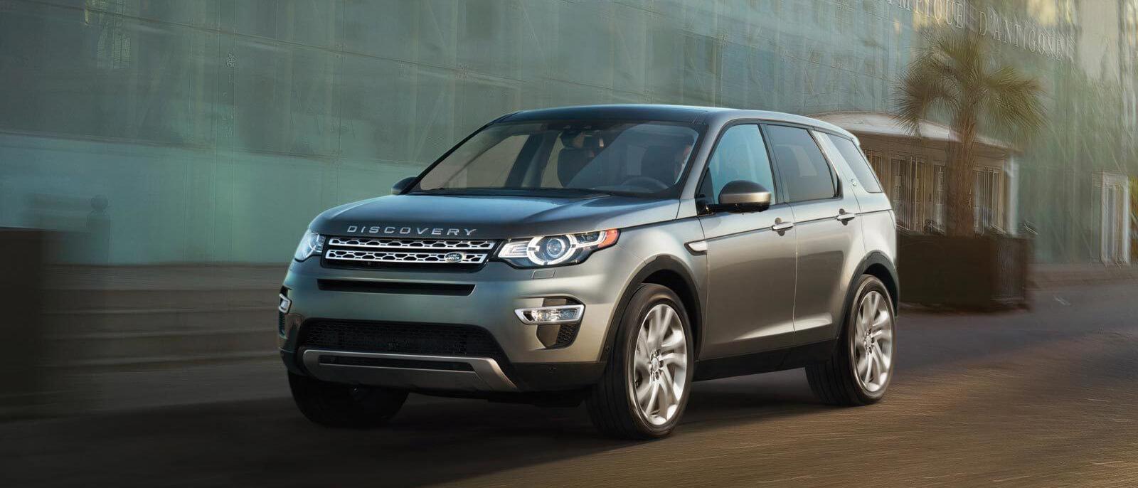 2016 Land Rover Discovery Sport exterior