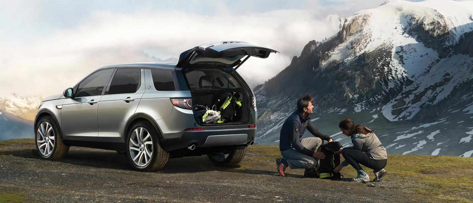 2016 Land Rover Discovery Sport trunk
