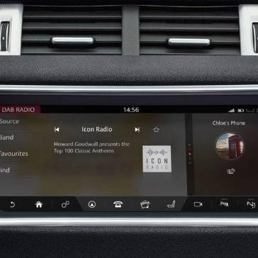 2017 Land Rover Range Rover Evoque Interior