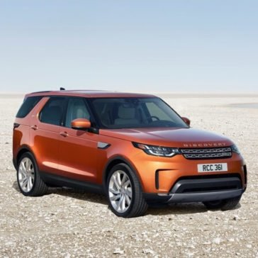 2017 Land Rover Discovery Parked